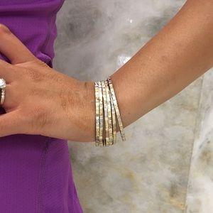 Jewelry - Bangles / churiyan 6 piece gold silver bronze